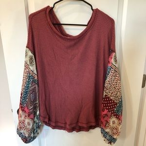 Gypsy inspired blouse